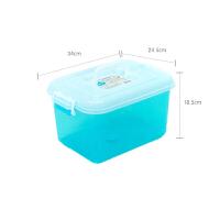 好货家居用品收纳箱塑料小号透明有盖箱子玩具收纳整理箱手提储物箱收纳盒同款