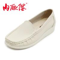 内联升女鞋布鞋女单鞋牛皮鞋护士鞋 时尚休闲女鞋母亲鞋 老北京布鞋F-988/1045