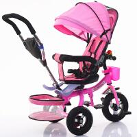 三轮儿童车折叠自行车宝宝婴儿手推车1--6脚踏童车钛空轮QL-44