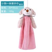 新品擦手巾韩国挂式毛巾强吸水儿童卡通一体洗脸毛巾厨房卫生间手帕