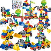 兼容乐高积木城市警察积木玩具宝宝拼装汽车2女孩男孩子3-4-5-6周岁