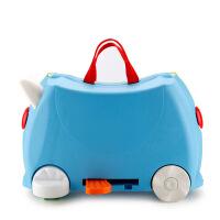 儿童旅行箱可坐能骑可拖拉宝宝卡通行李箱宝宝户外旅行箱小孩储物