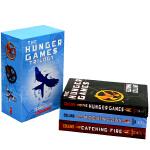 饥饿游戏英文原版小说三部曲全套1-3册Hunger Games Trilogy电影原著小说书籍燃烧的女孩 嘲笑鸟科幻小