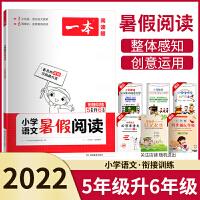 一本阅读题小学语文暑假阅读5升6衔接训练通用版五年级升六年级2021版