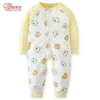 婴儿连体衣春秋棉哈衣爬服夏季婴儿衣服2019新款宝宝彩棉睡衣