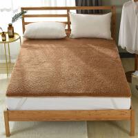 全羊毛驼羊毛保暖床垫褥床褥子冬天垫被单双人床定制 _驼羊毛床褥
