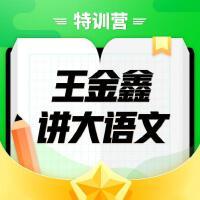 小喜马王金鑫讲大语文特训营(初阶版)