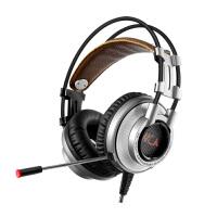 k9电脑头戴式电竞语音游戏手机耳麦带话筒吃鸡金属耳机