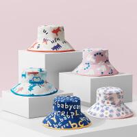 babycare婴儿帽子薄款儿童渔夫帽子男女童防晒遮阳帽
