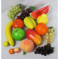仿真水果假水果装饰水果苹果梨子香蕉火龙果品种齐全