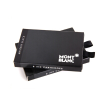 MONTBLANC 万宝龙 黑色墨芯/一次性水胆 (8支/盒×1)106943