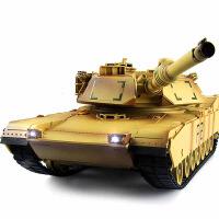 大型充电遥控坦克 对战坦克玩具遥控车遥控汽车坦克模型 男孩玩具美式坦克 坦克