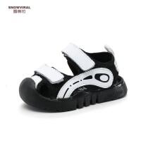 夏季男童鞋子���W步鞋1-3�q�����鲂�男包�^�底鞋�胗�盒�