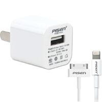 品胜苹果8苹果7/6s iPhone8 iPhone7/iPhone6S手机充电器(1A通用型)iPad mini充电