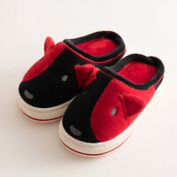 3小宝宝拖鞋女1一2岁小女孩毛毛可爱新款5婴幼儿童棉拖鞋秋冬