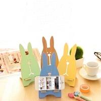 韩国时尚创意手机座 可爱兔 手机支架 托架 苹果手机架摆件抖音 颜色随机