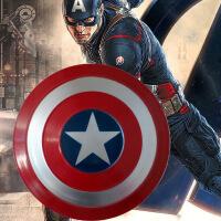 美国队长盾牌全金属工业风壁饰漫威复仇者联盟手持道具酒吧装饰