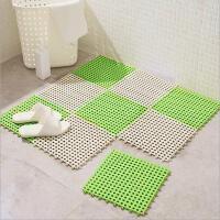 无味浴室拼接地垫厨房卫生间满铺隔水地毯拼图卫浴防滑垫塑料脚垫