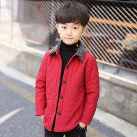 童装秋冬装男童棉衣外套2018新款儿童加厚棉袄冬季棉服男孩棉夹克
