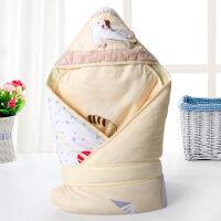 婴儿抱被秋冬婴儿抱被新生儿包被保暖抱毯宝宝秋冬款加厚被子用品可脱胆wk-70