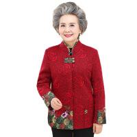 奶奶装秋装外套60-70-80岁中老年女装春秋上衣妈妈装老年人衣服冬