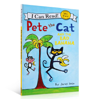 好酷的猫咪皮特猫系列 My First I Can Read Pete the Cat and the Bad Ban