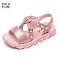 2019夏季新款韩版女童凉鞋中大童软底公主鞋女孩沙滩鞋