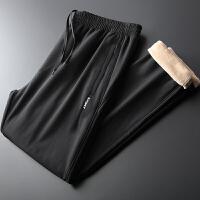 裤子男冬季款男士加绒加厚外穿棉裤休闲裤运动裤冬裤长裤宽松