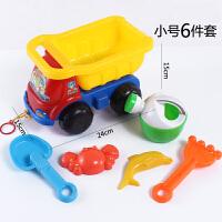 儿童沙滩玩具车套装宝宝戏水玩沙工具大铲子沙漏沙滩城堡玩具组合骊鸿