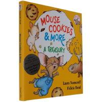 要是你给老鼠吃饼干英文原版绘本 If You Give Mouse Cookies 精装4个故事 吴敏兰 廖彩杏 CD