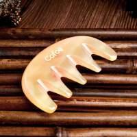 头部刮头的板刮痧梳刮头疗经络梳按摩板梳脸部牛角梳通用梳子