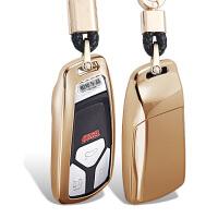 18款奥迪钥匙包A4L/A3/A6L/Q5/Q7/Q3汽车钥匙扣智能遥控保护壳套