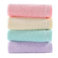 2条装 洁丽雅毛巾纯棉 洗脸 家用成人男女柔软吸水加厚面巾
