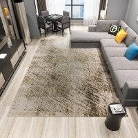 北欧地毯客厅卧室茶几垫欧式简约现代抽象沙发床边美式长方形地毯定制