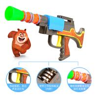 光头强电锯熊出没玩具枪光头强电锯玩具熊大熊二光头强玩具火箭炮婴儿小玩具 买5送1 (送的款式请备注)