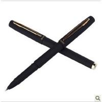 宝克 大容量签字笔 磨砂笔杆 商务水笔中性笔0.5mm