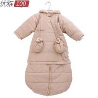 【货到付款】优雅100 良良 多用防寒睡袋 可做棉袄 柔软防风透气 90*40cm