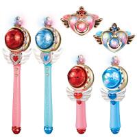 迪士尼冰雪奇缘公主玩具儿童发光手镯魔法棒小女孩生日艾莎仙女棒