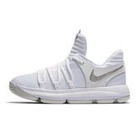 【到手价:299.5元】耐克 杜兰特ZOOM KD10(GS)运动鞋儿童多功能篮球鞋918364-100 白色