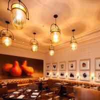 精美护眼时尚后现代创意简约玻璃餐厅吊灯艺术书房床头卧室咖啡厅设计师吊灯精美时尚吊灯 直径30CM 图片色