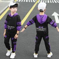 2019春秋季新款童装儿童两件套男孩运动套装男童秋装套装