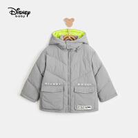 【3件3折券后预估价:148.8元】迪士尼男童时尚棉服秋冬新款童装卡通米奇保暖上衣宝宝外套
