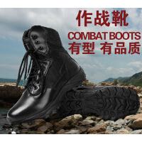 军迷户外作战靴 高帮春季战术靴 男特种兵军靴沙漠靴