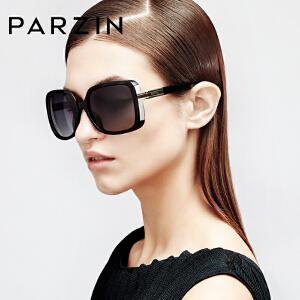 帕森复古时尚偏光太阳镜 修脸潮搭大框女士经典偏光驾驶眼镜9257