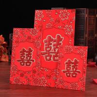 结婚庆用品创意大小利是封婚礼烫金硬质万元千元百元红包礼金袋