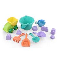 儿童沙滩玩具套装玩沙子挖沙漏决明子铲子宝宝洗澡戏水玩具