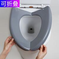 马桶坐垫马桶圈塑料便携坐厕垫折叠旅行马桶套坐便器家用防水夏天