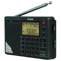 德生 PL-380 全波段数字解调立体声收音机 英语四六级口语考试专用收音机 黑色 灰色和银色!
