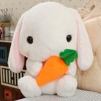 2018新款 兔子公仔抱枕兔子毛绒玩具女生 布娃娃玩偶 儿童节生日礼物送女友