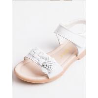 2019夏季新款韩版中大童平底鞋小女孩公主鞋女童凉鞋